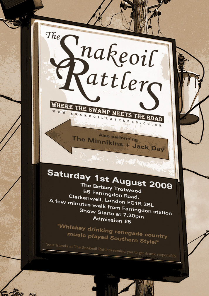 The Snakeoil Rattlers Gigs